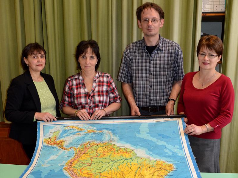 Földrajz munkaközösség 2013