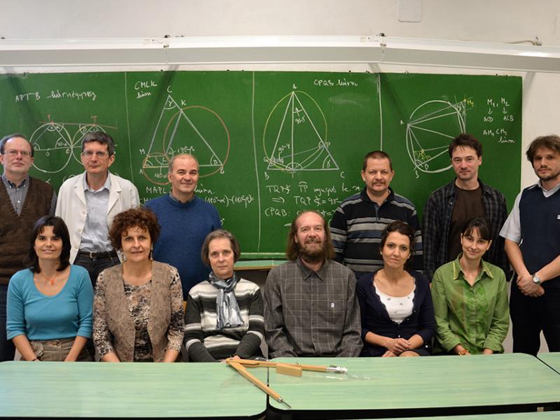 Matematika munkaközösség 2013