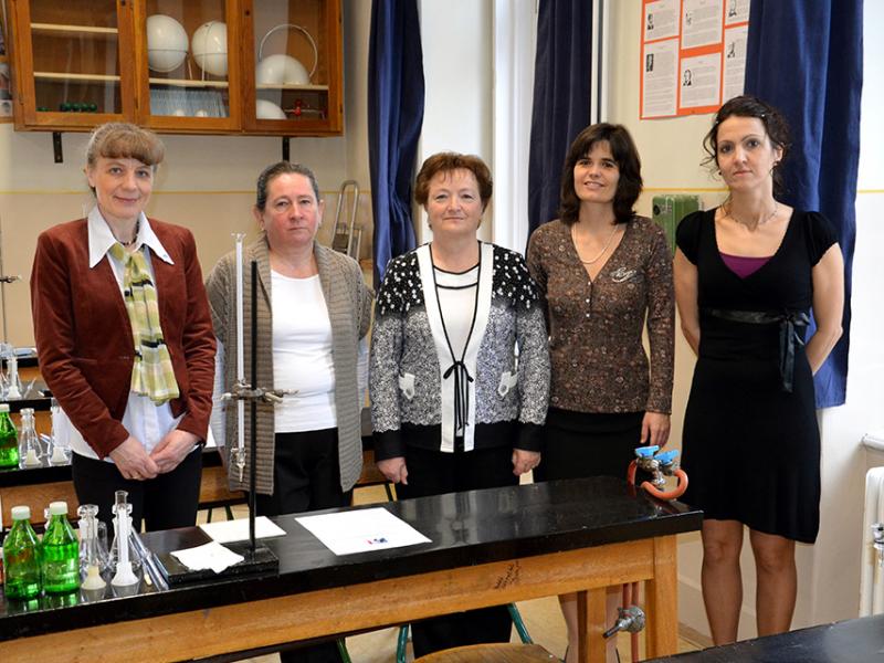 Kémia munkaközösség 2013